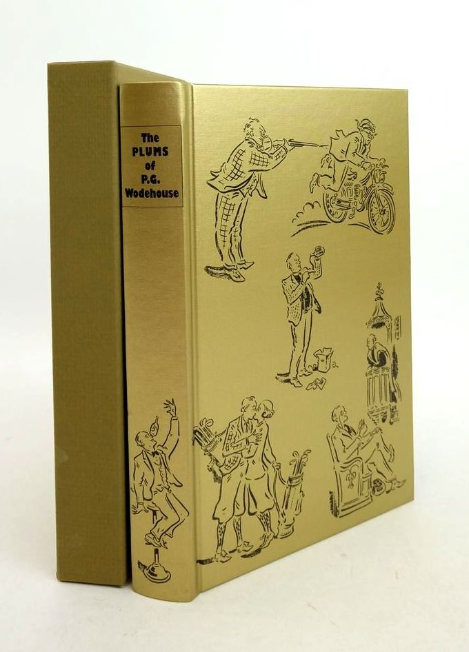 Photo of THE PLUMS OF P.G. WODEHOUSE written by Wodehouse, P.G. Blundell, Joe Whitlock illustrated by Cox, Paul published by Folio Society (STOCK CODE: 1821951)  for sale by Stella & Rose's Books