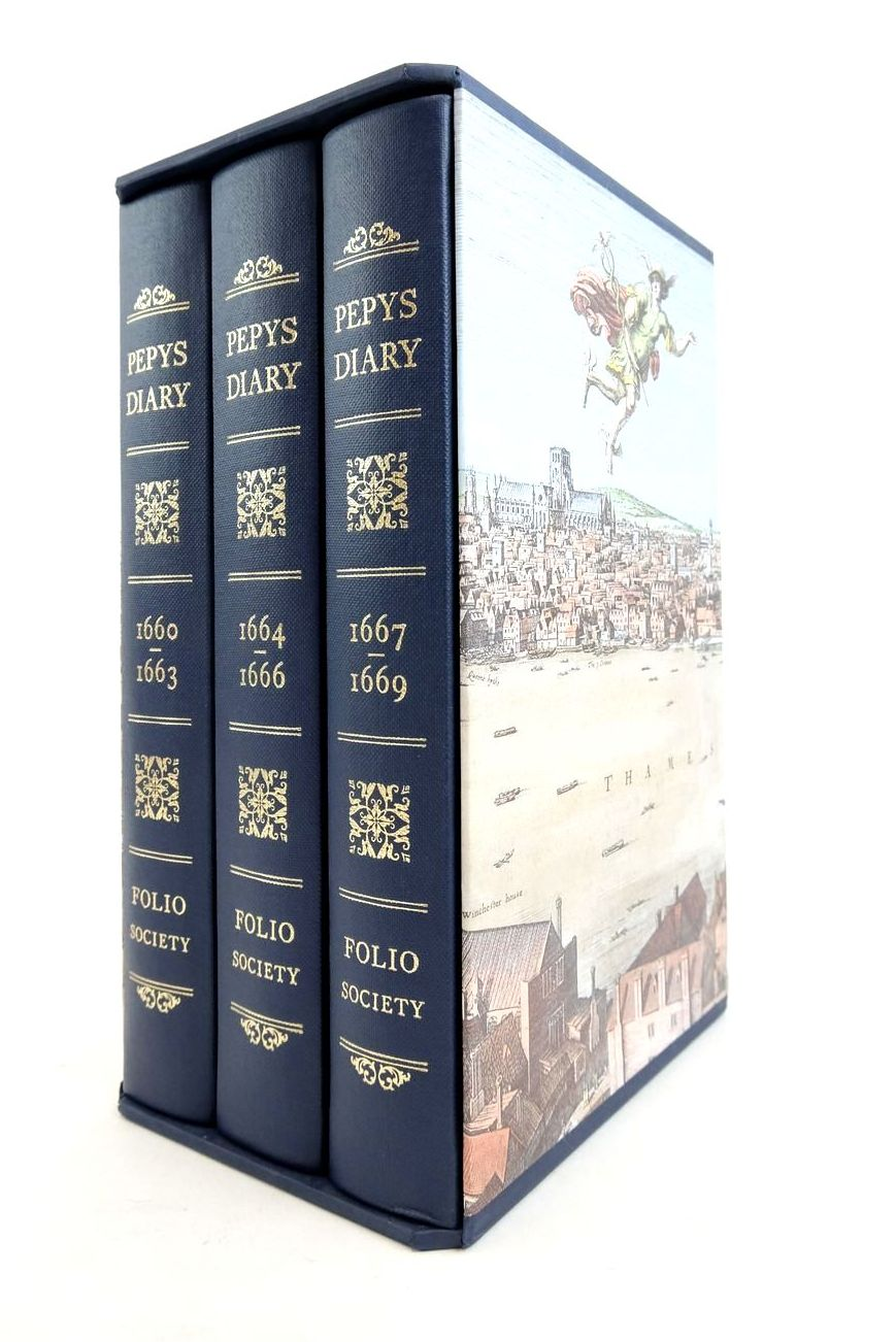 Photo of PEPYS'S DIARY (3 VOLUMES)- Stock Number: 1821961