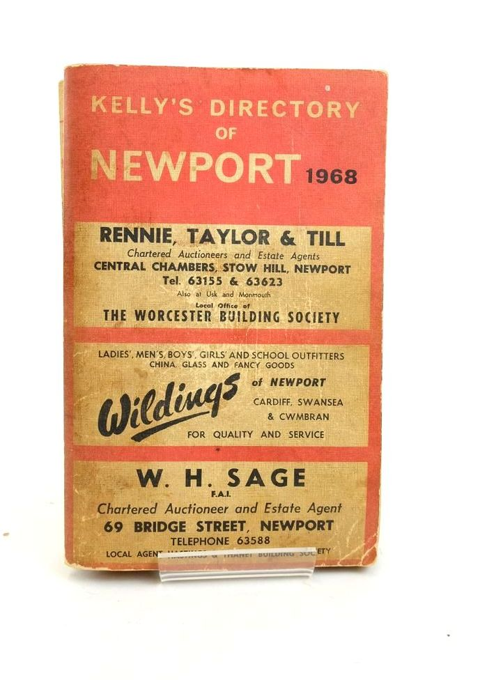 Photo of KELLY'S DIRECTORY OF NEWPORT 1968- Stock Number: 1821995