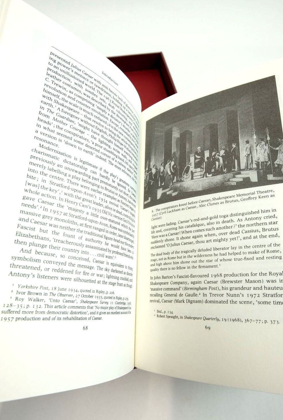 Photo of JULIUS CAESAR (THE LETTERPRESS SHAKESPEARE) written by Shakespeare, William Humphreys, Arthur published by Folio Society (STOCK CODE: 1821997)  for sale by Stella & Rose's Books