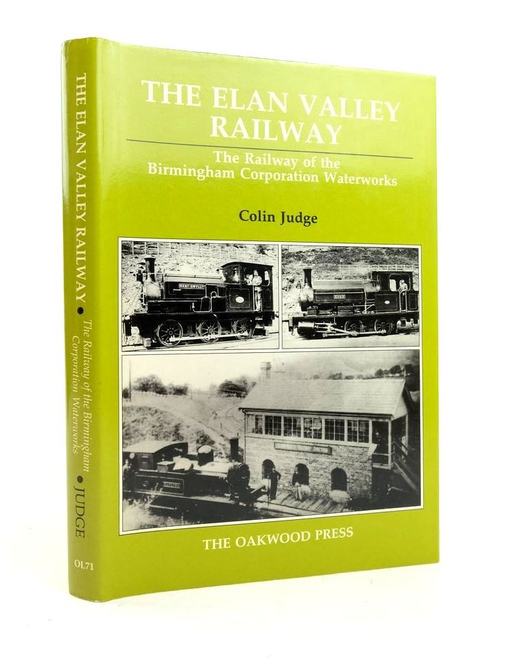 Photo of THE ELAN VALLEY RAILWAY written by Judge, Colin published by The Oakwood Press (STOCK CODE: 1822037)  for sale by Stella & Rose's Books