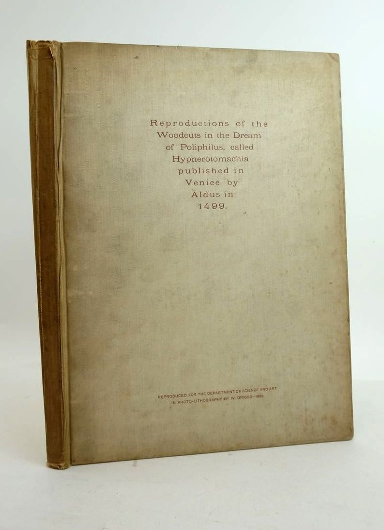 Photo of THE DREAM OF POLIPHILUS: FAC-SIMILES OF ONE HUNDRED AND SIXTY-EIGHT WOODCUTS- Stock Number: 1822080