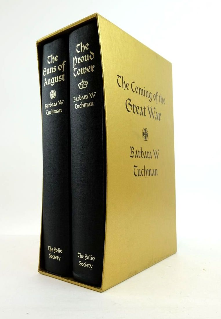 Photo of THE COMING OF THE GREAT WAR (2 VOLUMES) written by Tuchman, Barbara W. published by Folio Society (STOCK CODE: 1822088)  for sale by Stella & Rose's Books