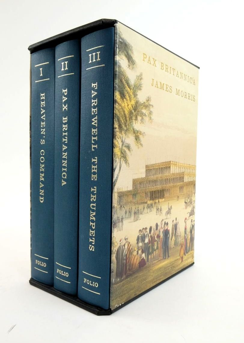 Photo of PAX BRITANNICA (3 VOLUMES) written by Morris, James published by Folio Society (STOCK CODE: 1822130)  for sale by Stella & Rose's Books