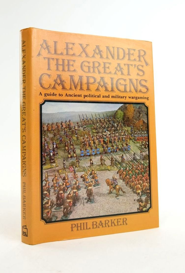 Photo of ALEXANDER THE GREAT'S CAMPAIGNS: A GUIDE TO ANCIENT POLITICAL AND MILITARY WARGAMING- Stock Number: 1822142