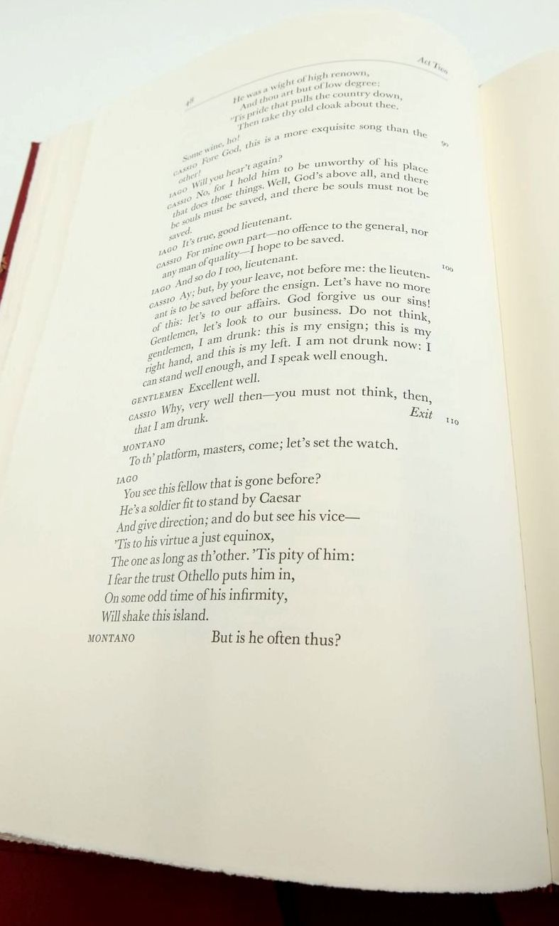 Photo of OTHELLO (THE LETTERPRESS SHAKESPEARE) written by Shakespeare, William Neill, Michael published by Folio Society (STOCK CODE: 1822144)  for sale by Stella & Rose's Books