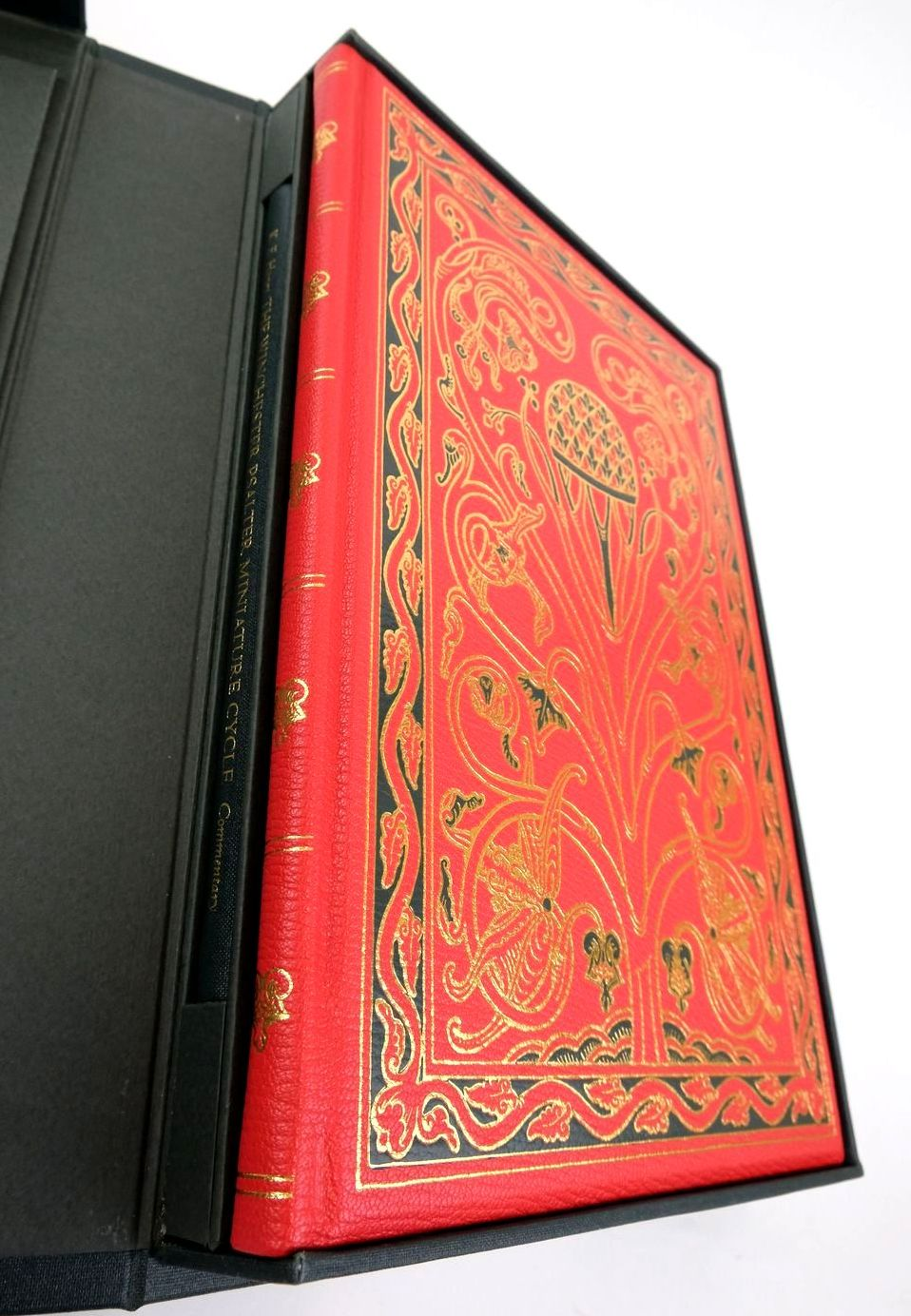 Photo of THE WINCHESTER PSALTER MINIATURE CYCLE written by Haney, Kristine E. published by Folio Society (STOCK CODE: 1822160)  for sale by Stella & Rose's Books