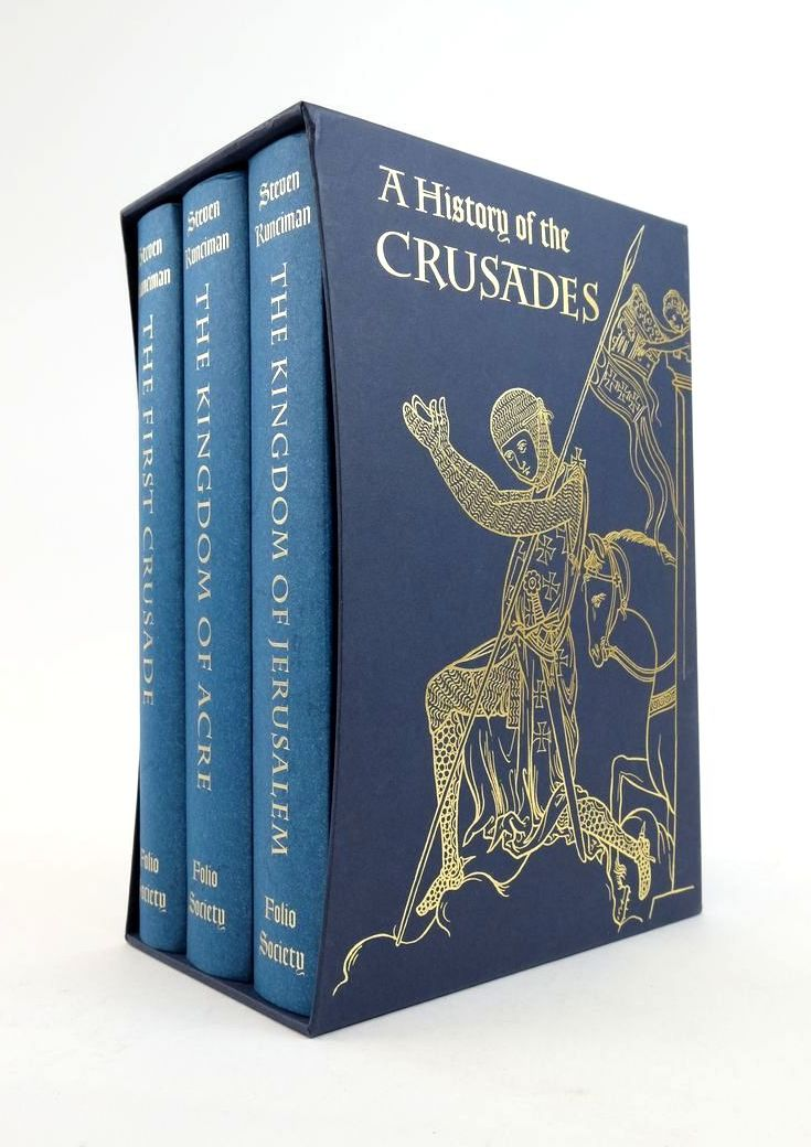 Photo of A HISTORY OF THE CRUSADES (3 VOLUMES)- Stock Number: 1822162