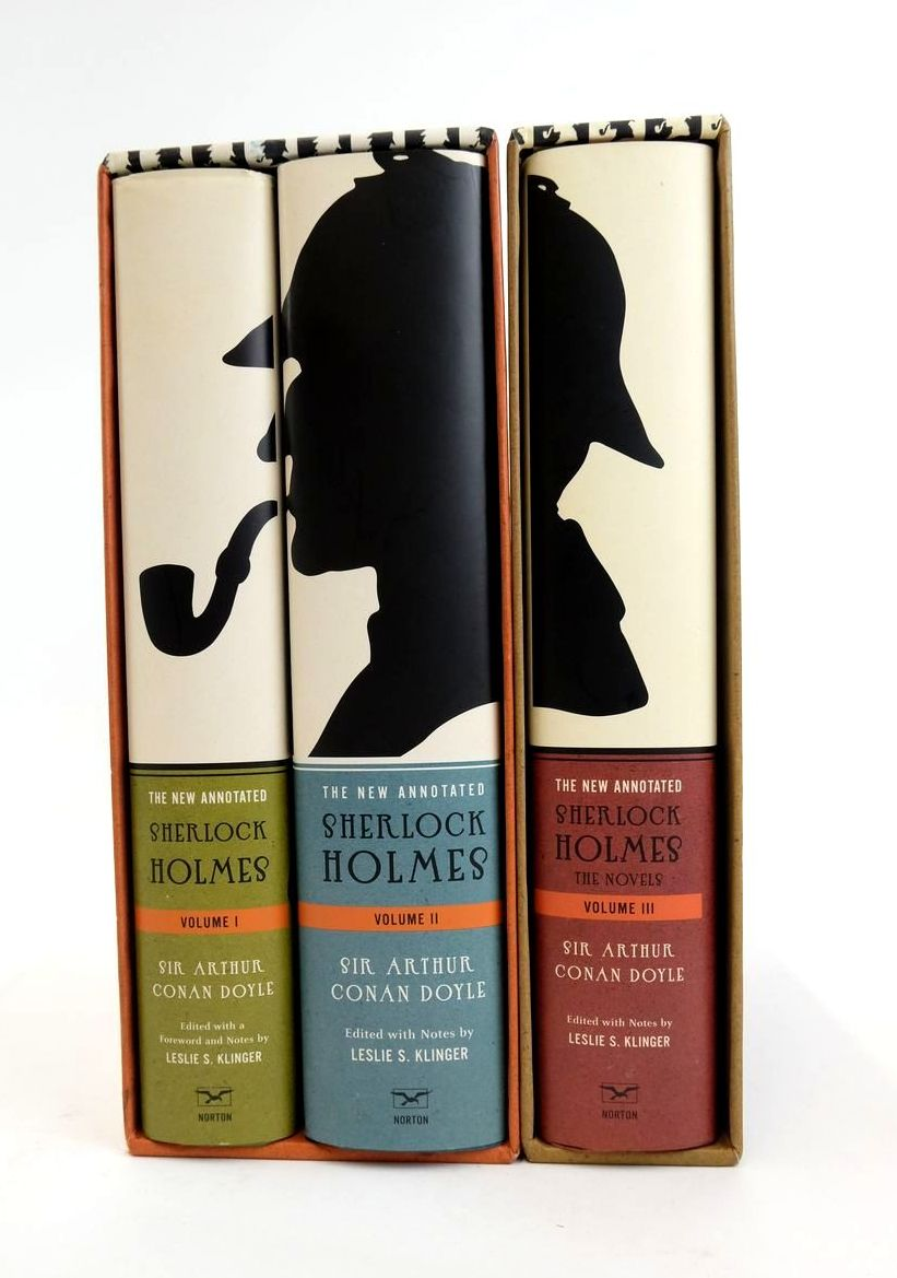 Photo of THE NEW ANNOTATED SHERLOCK HOLMES (3 VOLUMES)- Stock Number: 1822164