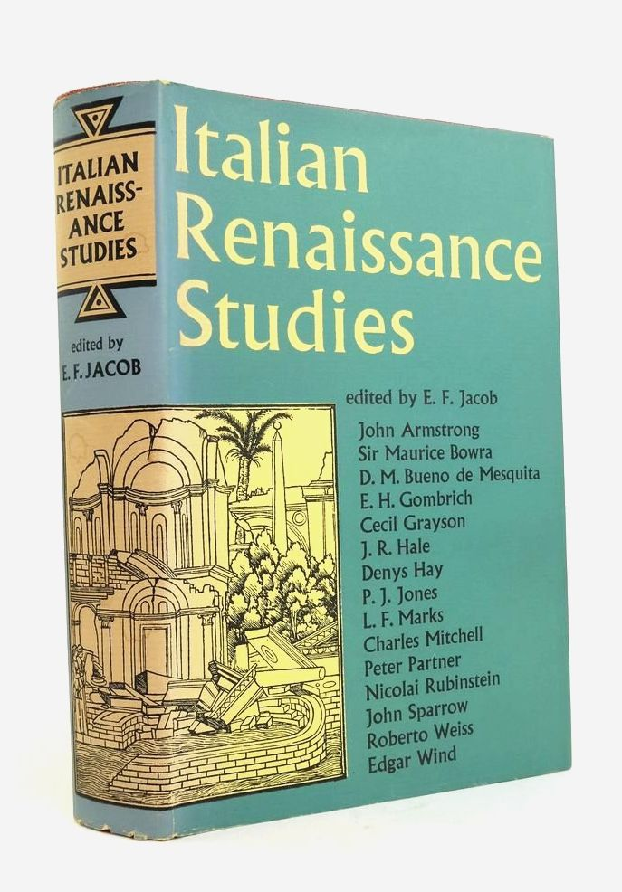 Photo of ITALIAN RENAISSANCE STUDIES written by Jacob, E.F. published by Faber & Faber (STOCK CODE: 1822187)  for sale by Stella & Rose's Books