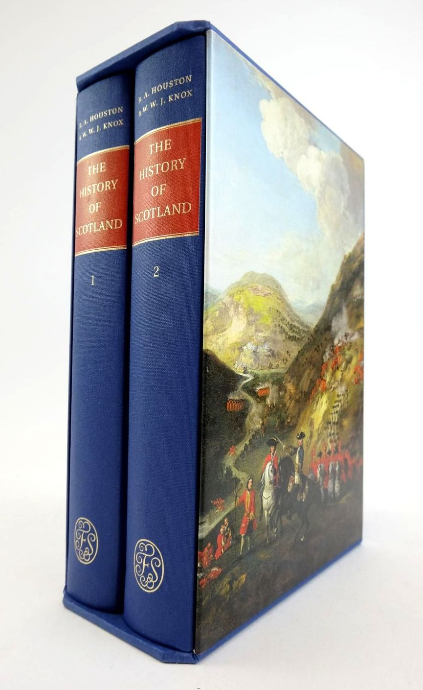 Photo of THE HISTORY OF SCOTLAND FROM THE EARLIEST TIMES TO THE PRESENT DAY (2 VOLUMES) written by Houston, R.A. Knox, W.W.J. published by Folio Society (STOCK CODE: 1822208)  for sale by Stella & Rose's Books