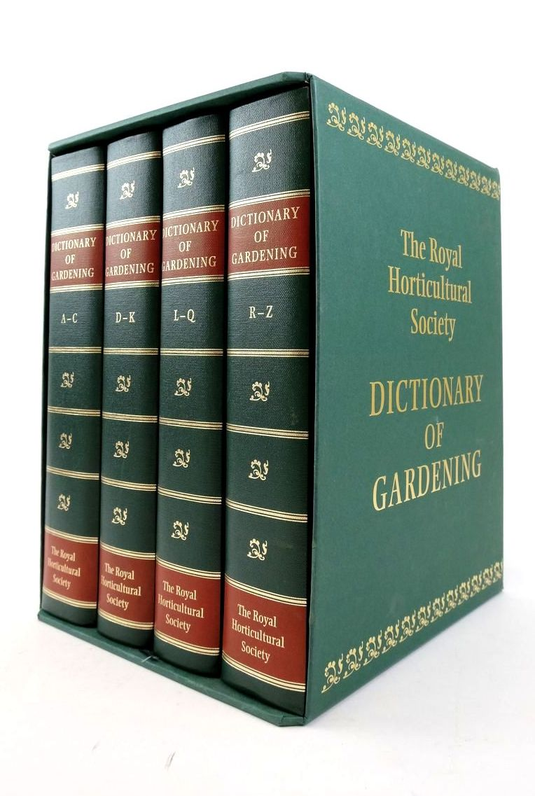 Photo of THE NEW ROYAL HORTICULTURAL SOCIETY DICTIONARY OF GARDENING (4 VOLUMES) written by Huxley, Anthony Griffiths, Mark Levy, Margot published by Royal Horticultural society (STOCK CODE: 1822265)  for sale by Stella & Rose's Books