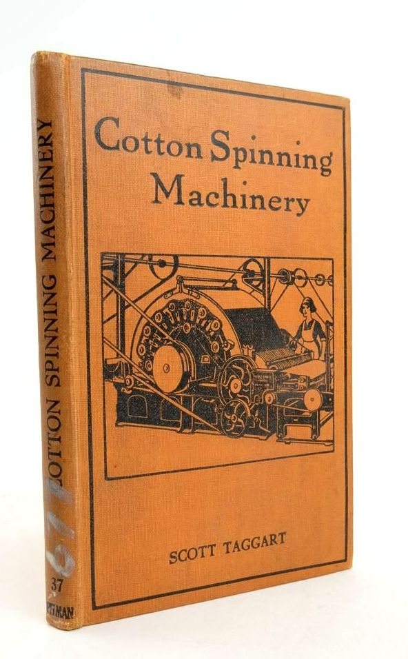 Photo of COTTON SPINNING MACHINERY AND ITS USES- Stock Number: 1822284