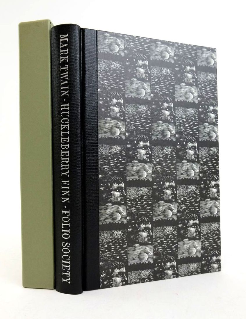 Photo of THE ADVENTURES OF HUCKLEBERRY FINN written by Twain, Mark Ward, Colin illustrated by Brockway, Harry published by Folio Society (STOCK CODE: 1822314)  for sale by Stella & Rose's Books