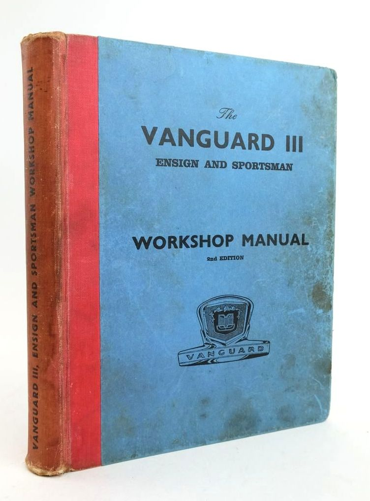 Photo of WORKSHOP MANUAL FOR VANGUARD III & ENSIGN MODELS published by Standard-Triumph (STOCK CODE: 1822327)  for sale by Stella & Rose's Books