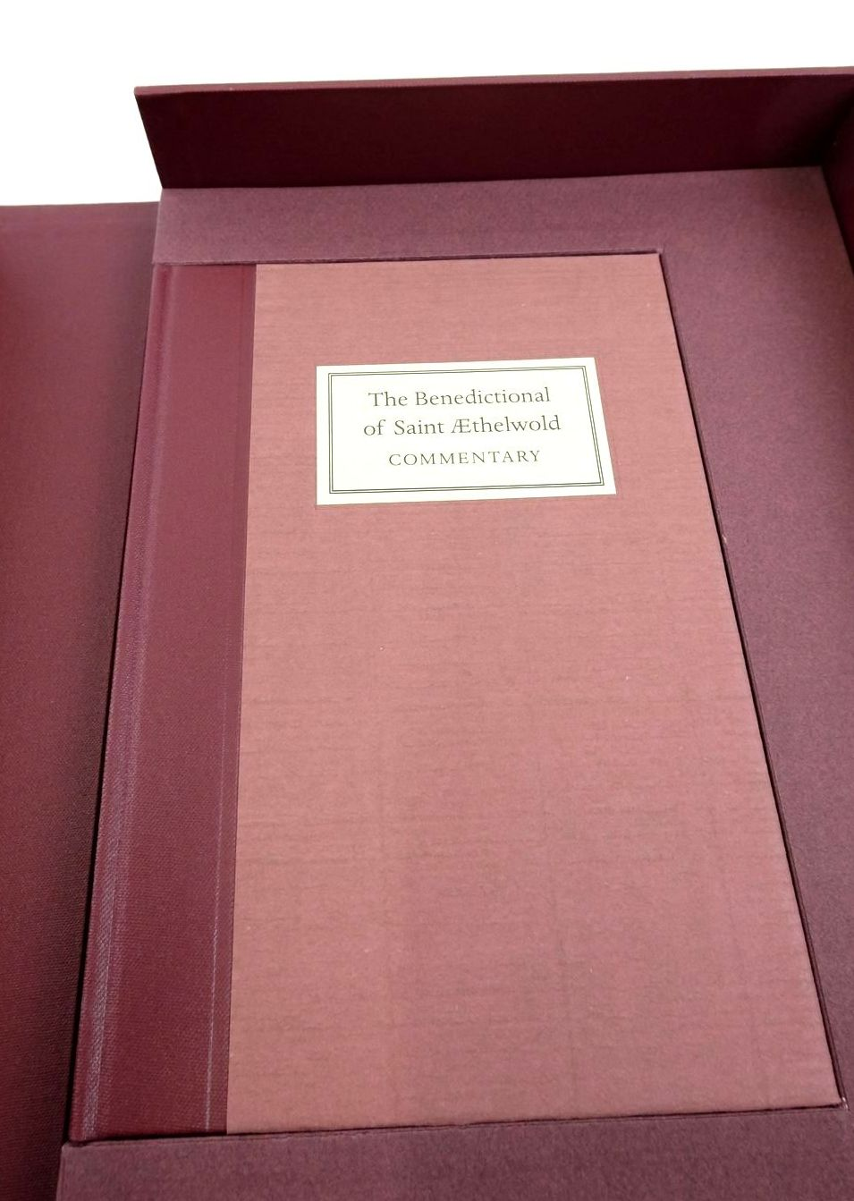 Photo of THE BENEDICTIONAL OF SAINT AETHELWOLD written by Prescott, Andrew published by Folio Society (STOCK CODE: 1822335)  for sale by Stella & Rose's Books