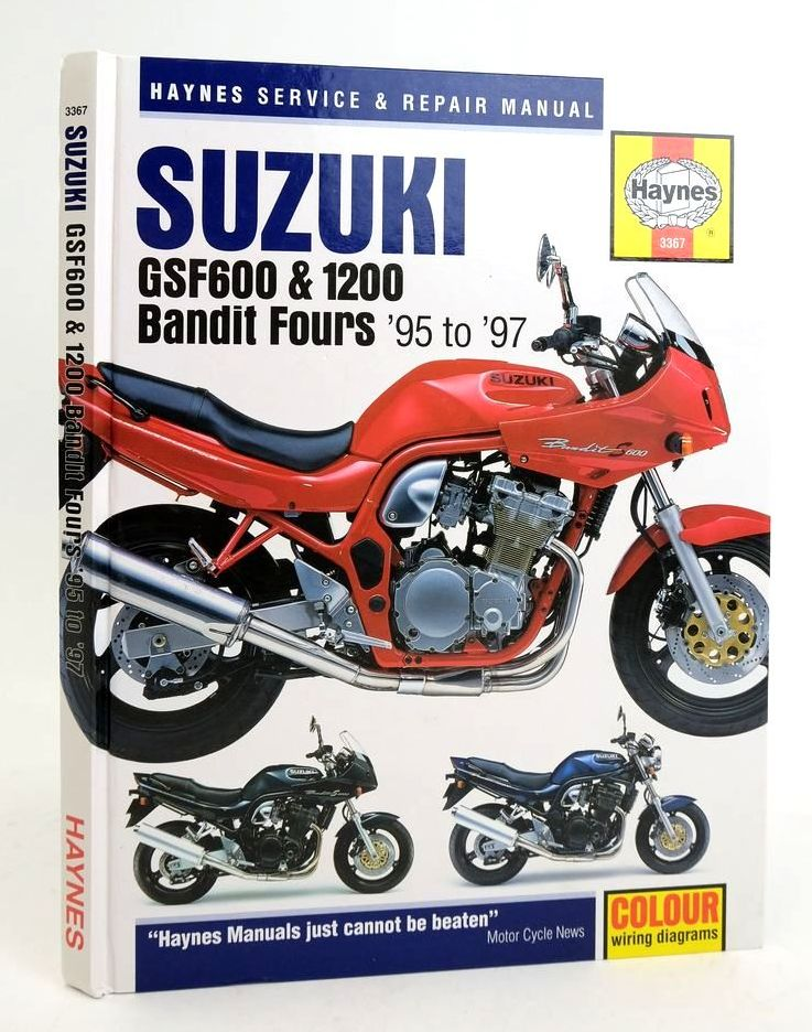Photo of SUZUKI GSF600 & 1200 BANDIT FOURS: SERVICE AND REPAIR MANUAL- Stock Number: 1822339