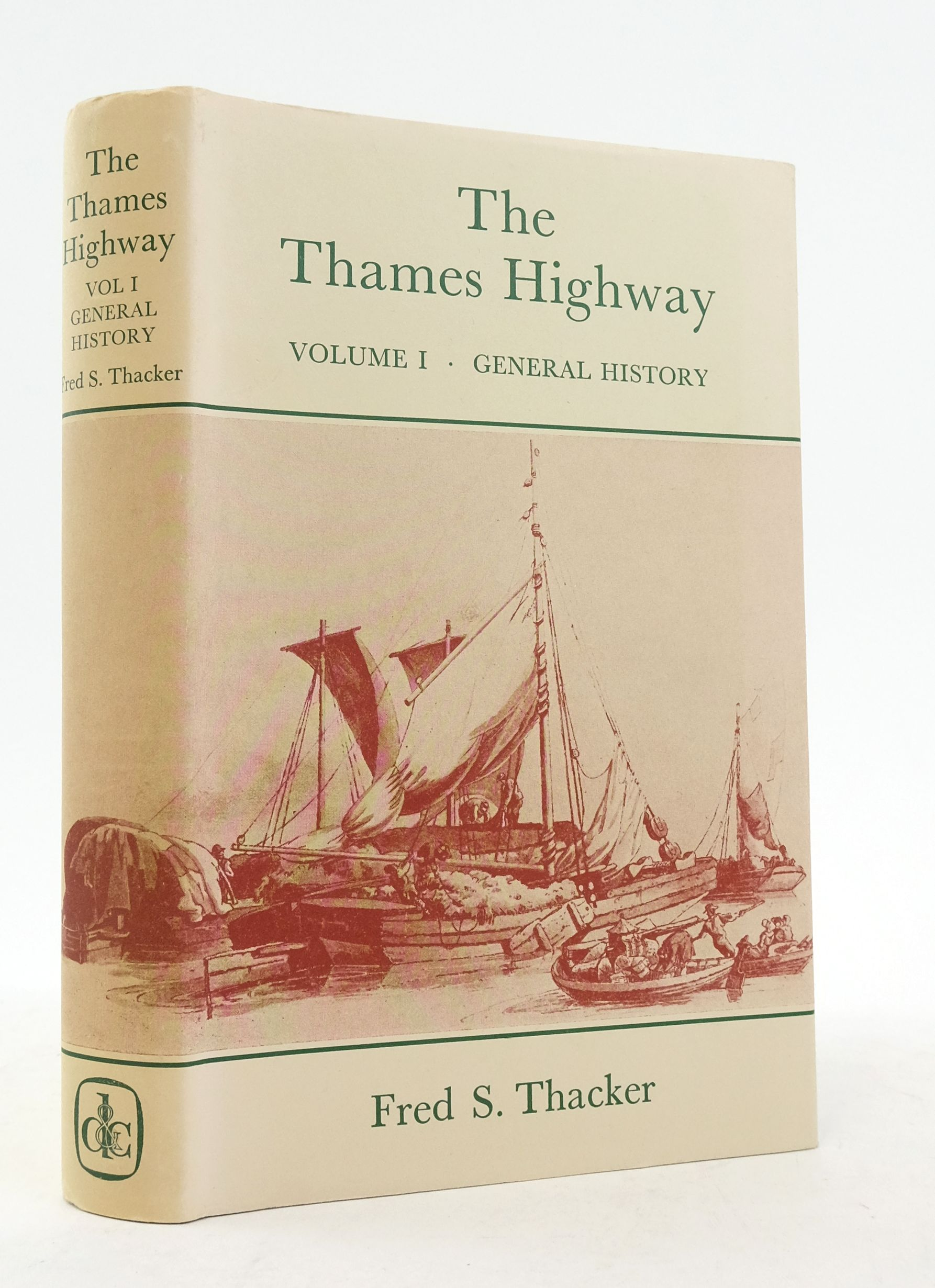 Photo of THE THAMES HIGHWAY VOLUME I: GENERAL HISTORY- Stock Number: 1822374