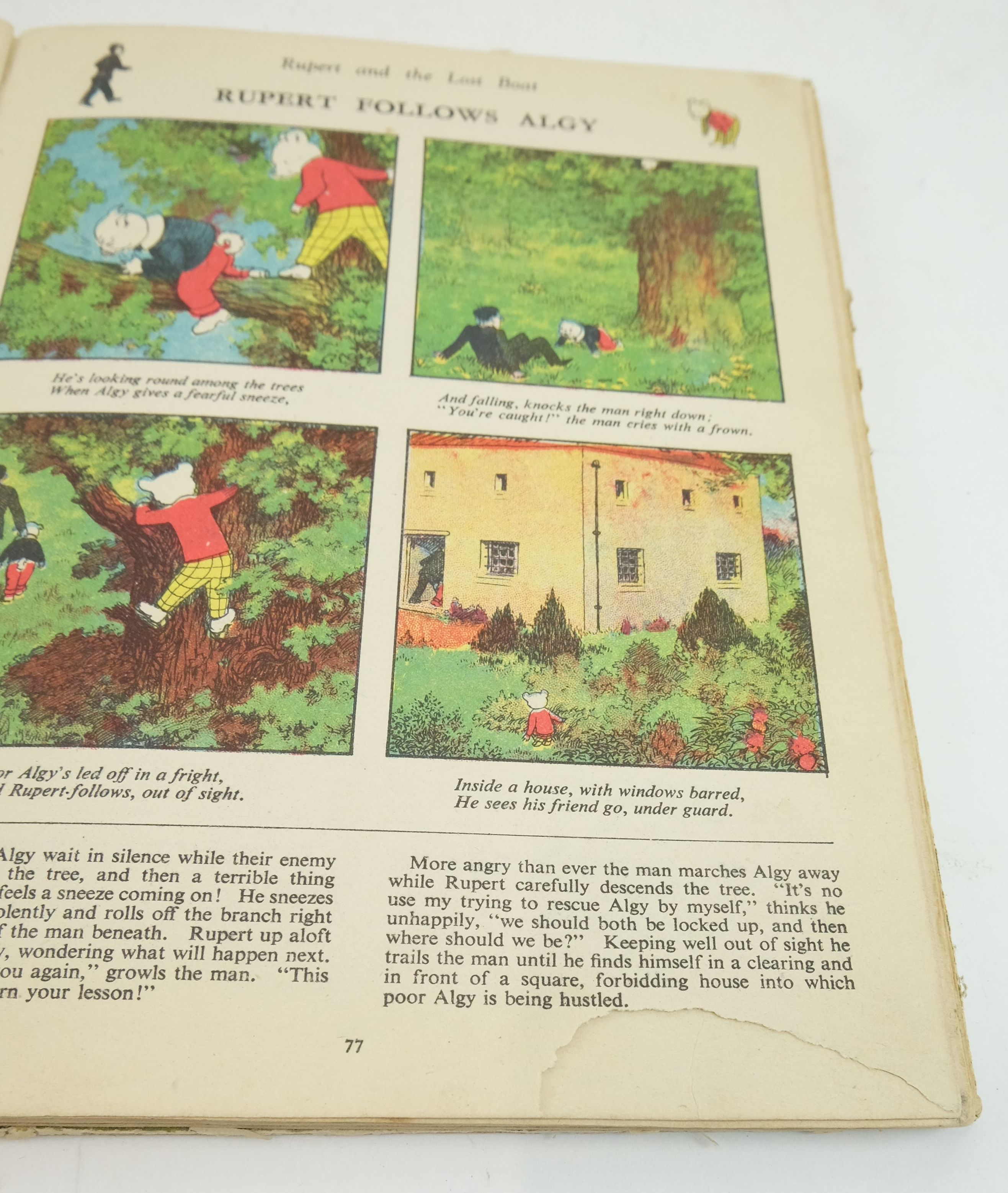Photo of RUPERT ANNUAL 1941 - THE RUPERT BOOK written by Bestall, Alfred illustrated by Bestall, Alfred published by Daily Express (STOCK CODE: 1822382)  for sale by Stella & Rose's Books