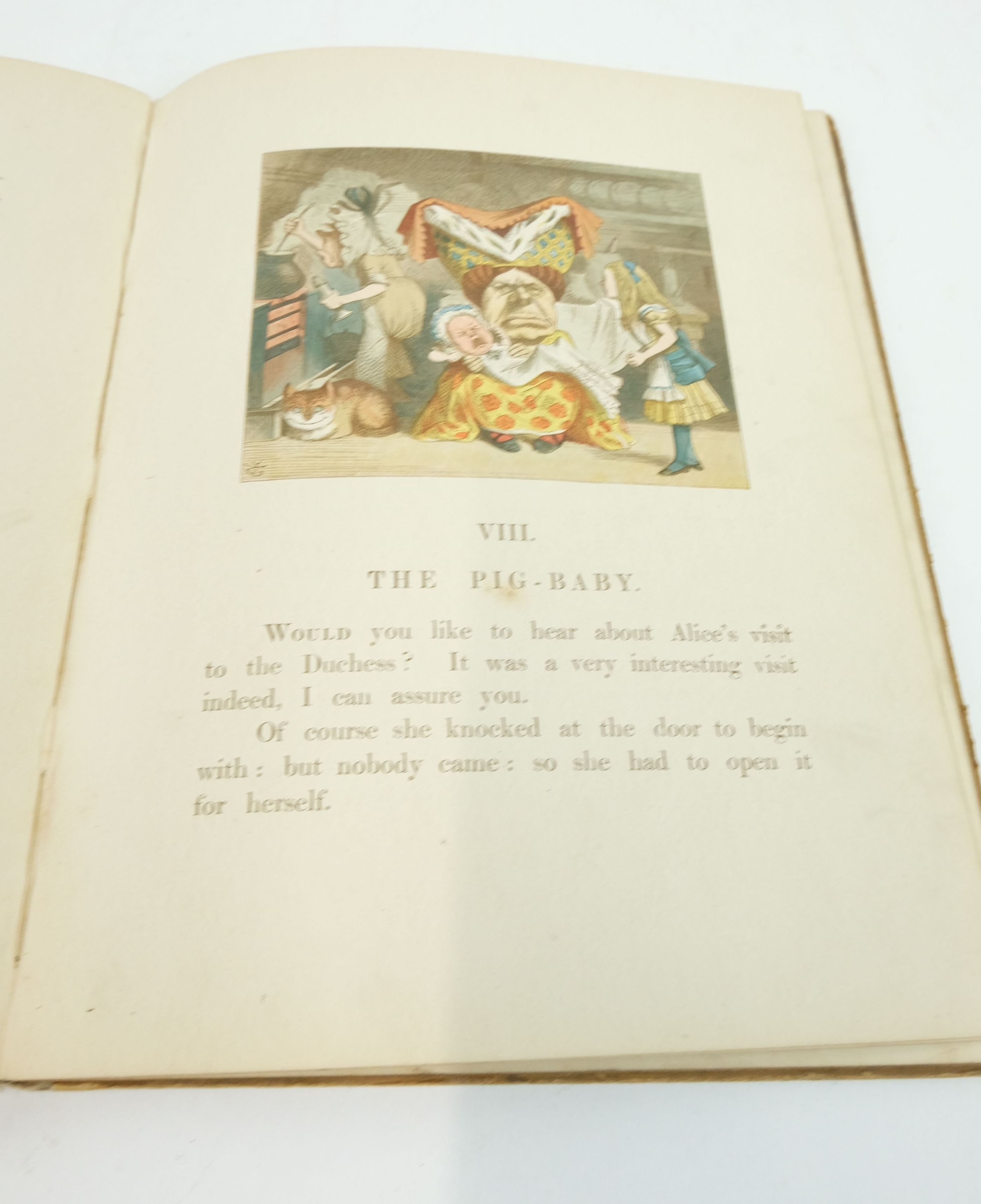 Photo of THE NURSERY ALICE written by Carroll, Lewis illustrated by Thomson, E. Gertrude published by Macmillan & Co. (STOCK CODE: 1822383)  for sale by Stella & Rose's Books