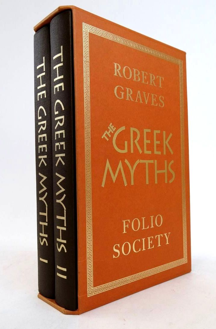 Photo of THE GREEK MYTHS (2 VOLUMES) written by Graves, Robert McLeish, Kenneth illustrated by Baker, Grahame published by Folio Society (STOCK CODE: 1822394)  for sale by Stella & Rose's Books