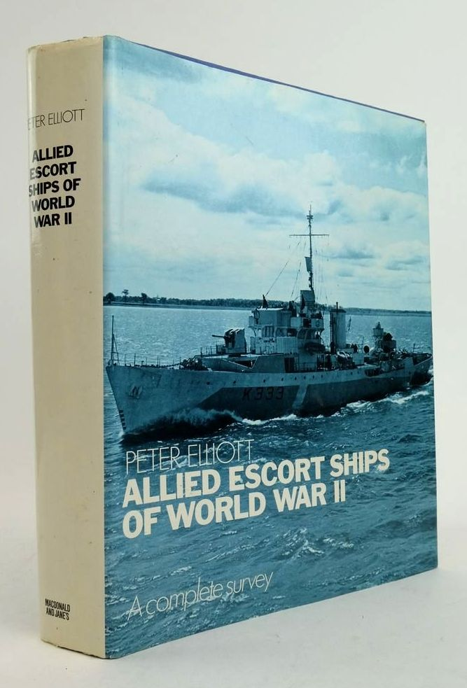 Photo of ALLIED ESCORT SHIPS OF WORLD WAR II: A COMPLETE SURVEY written by Elliott, Peter published by Macdonald and Jane's (STOCK CODE: 1822425)  for sale by Stella & Rose's Books