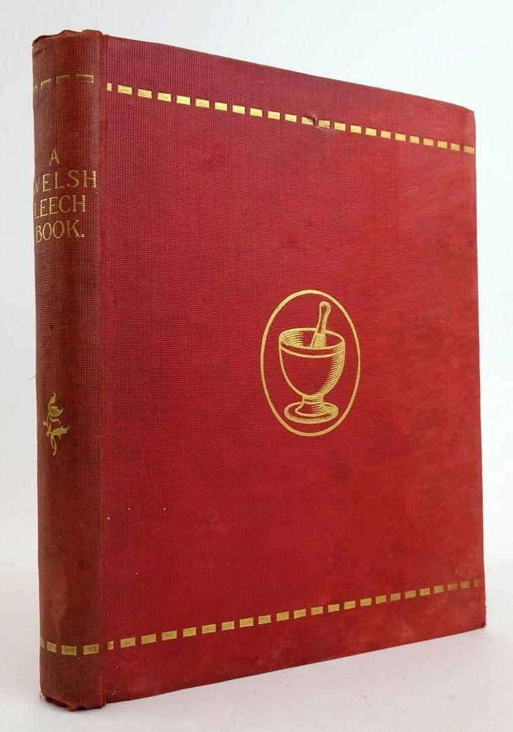 Photo of A WELSH LEECH BOOK OR LLYFR O FEDDYGINIAETH- Stock Number: 1822426