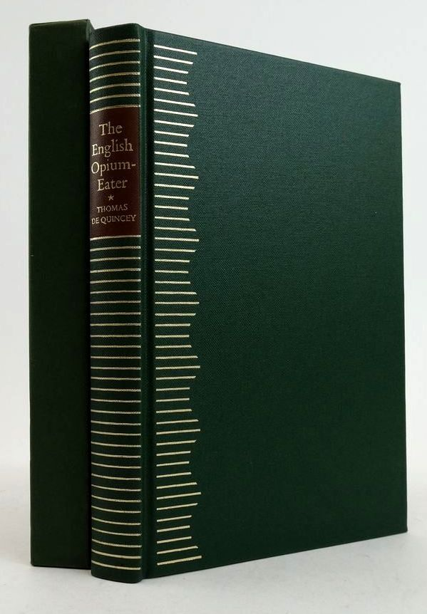 Photo of THE CONFESSIONS OF AN ENGLISH OPIUM-EATER written by De Quincey, Thomas illustrated by Hughes-Stanton, Blair published by Folio Society (STOCK CODE: 1822438)  for sale by Stella & Rose's Books