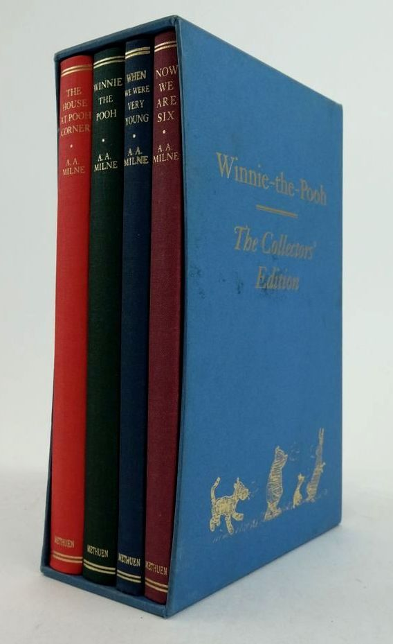 Photo of WINNIE-THE-POOH THE COLLECTORS' EDITION written by Milne, A.A. illustrated by Shepard, E.H. published by Methuen Children's Books (STOCK CODE: 1822441)  for sale by Stella & Rose's Books