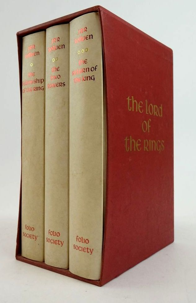 Photo of THE LORD OF THE RINGS (3 VOLUMES) written by Tolkien, J.R.R. illustrated by Grathmer, Ingahild Fraser, Eric published by Folio Society (STOCK CODE: 1822442)  for sale by Stella & Rose's Books
