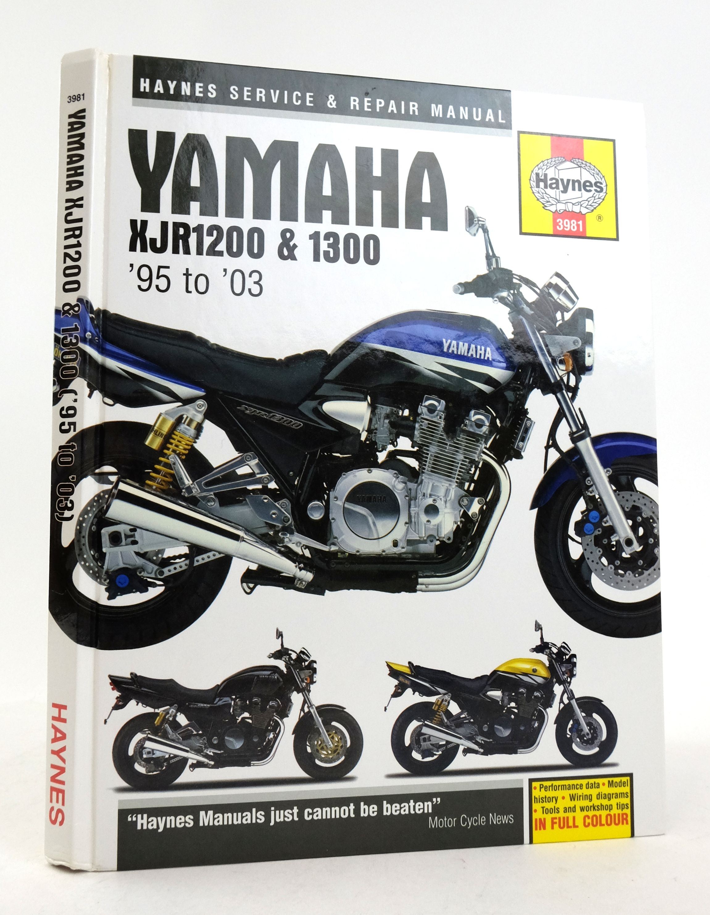 Photo of YAMAHA XJR1200 & 1300: SERVICE AND REPAIR MANUAL- Stock Number: 1822461