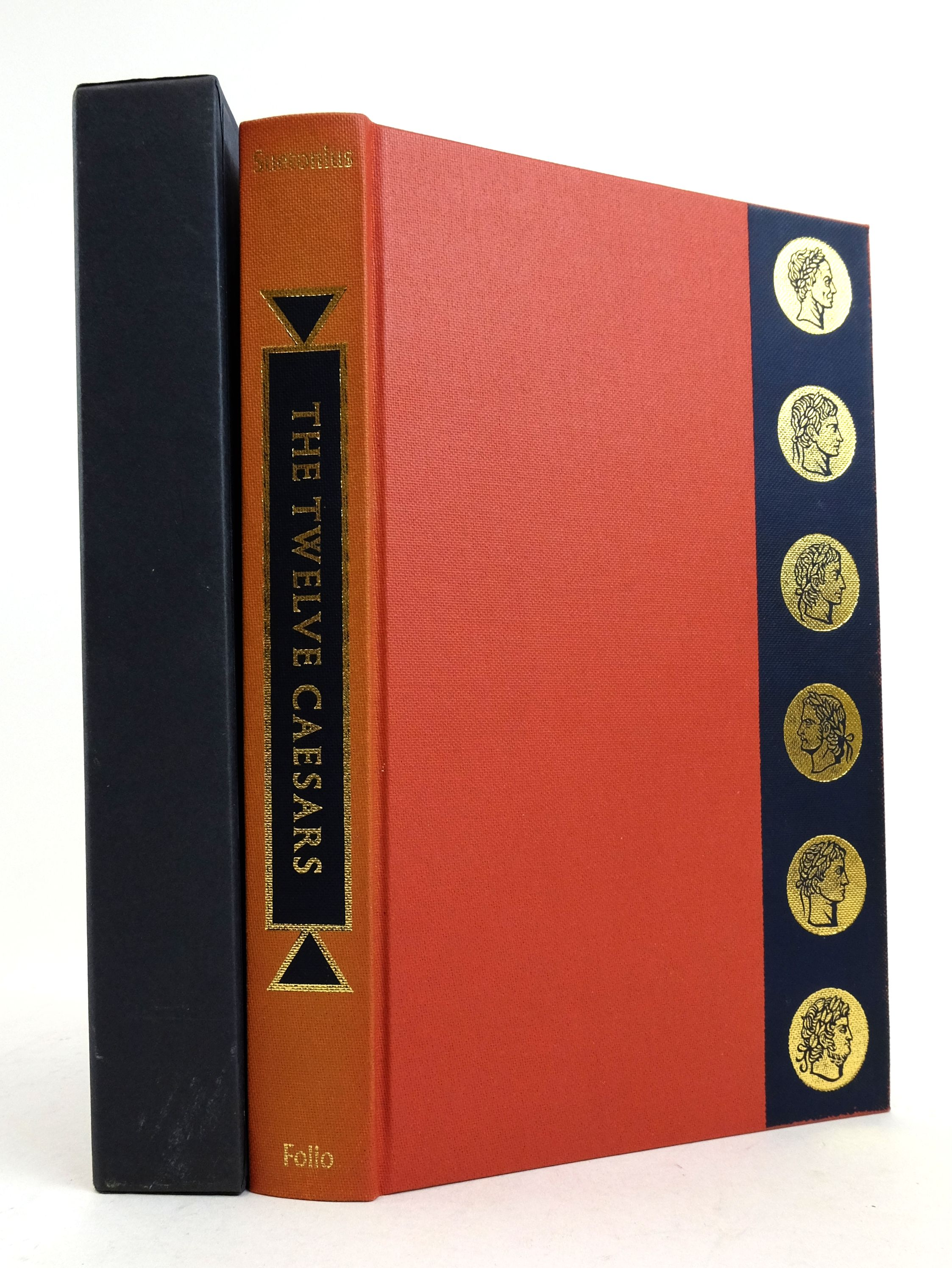 Photo of THE TWELVE CAESARS written by Tranquillus, Gaius Suetonius Graves, Robert illustrated by Hawthorn, Raymond published by Folio Society (STOCK CODE: 1822470)  for sale by Stella & Rose's Books