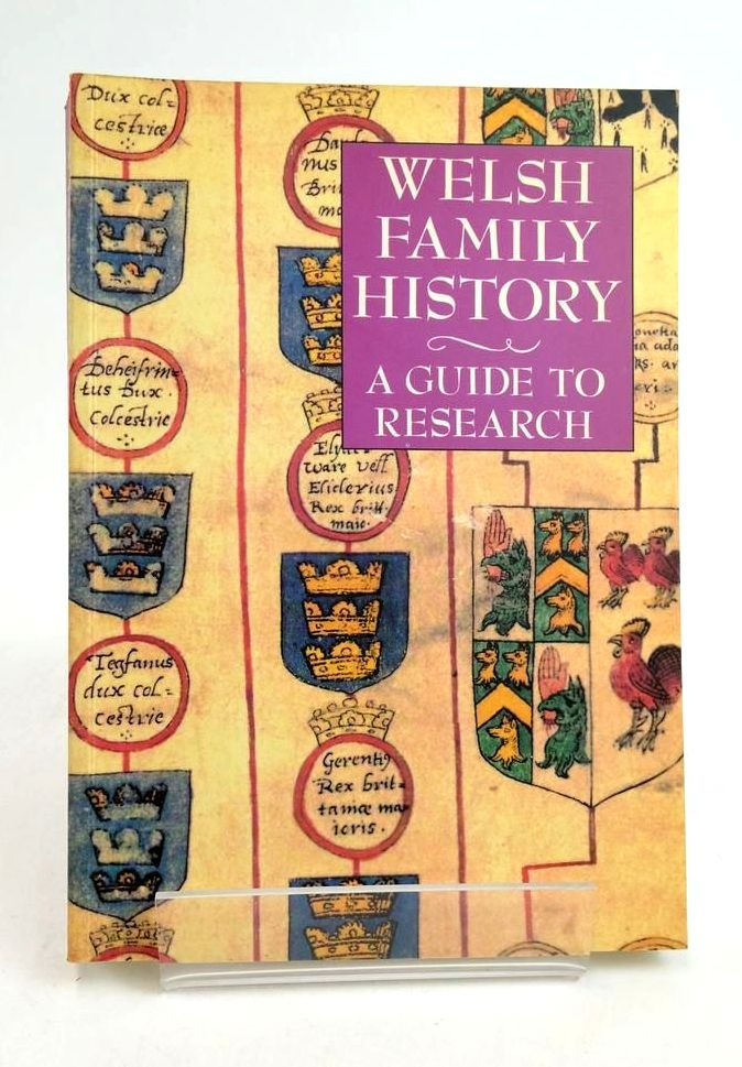Photo of WELSH FAMILY HISTORY A GUIDE TO RESEARCH- Stock Number: 1822478