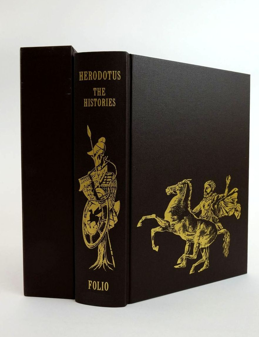 Photo of HERODOTUS: THE HISTORIES written by Herodotus,  De Selincourt, Aubrey Marincola, John Rabb, Theodore K. published by Folio Society (STOCK CODE: 1822493)  for sale by Stella & Rose's Books