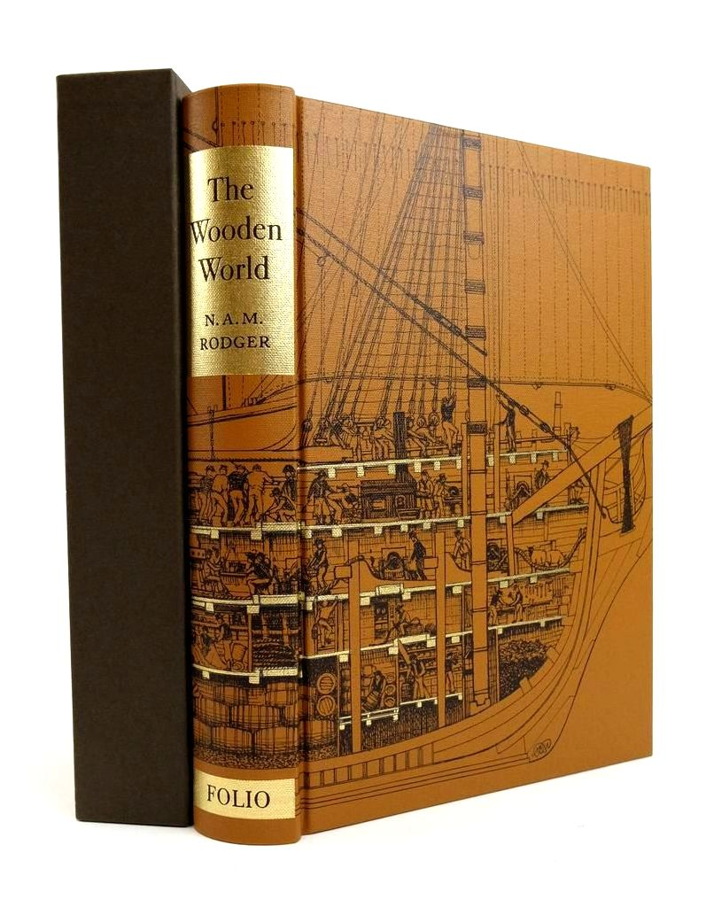 Photo of THE WOODEN WORLD: AN ANATOMY OF THE GEORGIAN NAVY written by Rodger, N.A.M. published by Folio Society (STOCK CODE: 1822530)  for sale by Stella & Rose's Books