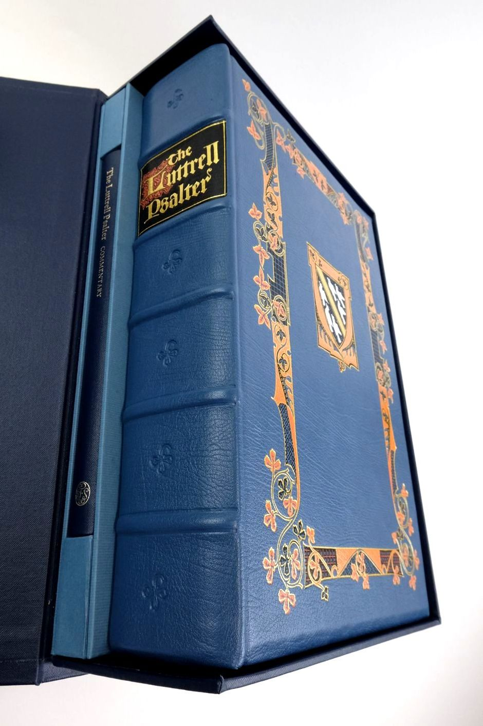 Photo of THE LUTTRELL PSALTER written by Brown, Michelle P. published by Folio Society (STOCK CODE: 1822576)  for sale by Stella & Rose's Books