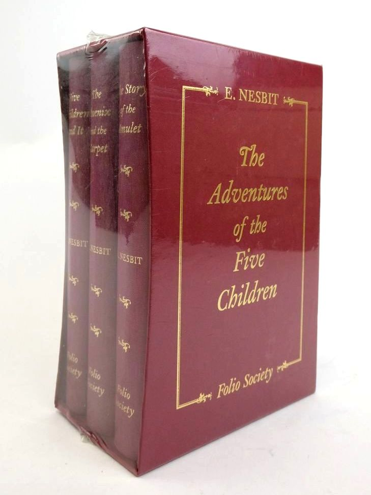 Photo of THE ADVENTURES OF THE FIVE CHILDREN (3 VOLUMES) written by Nesbit, E. illustrated by Millar, H.R. published by Folio Society (STOCK CODE: 1822605)  for sale by Stella & Rose's Books