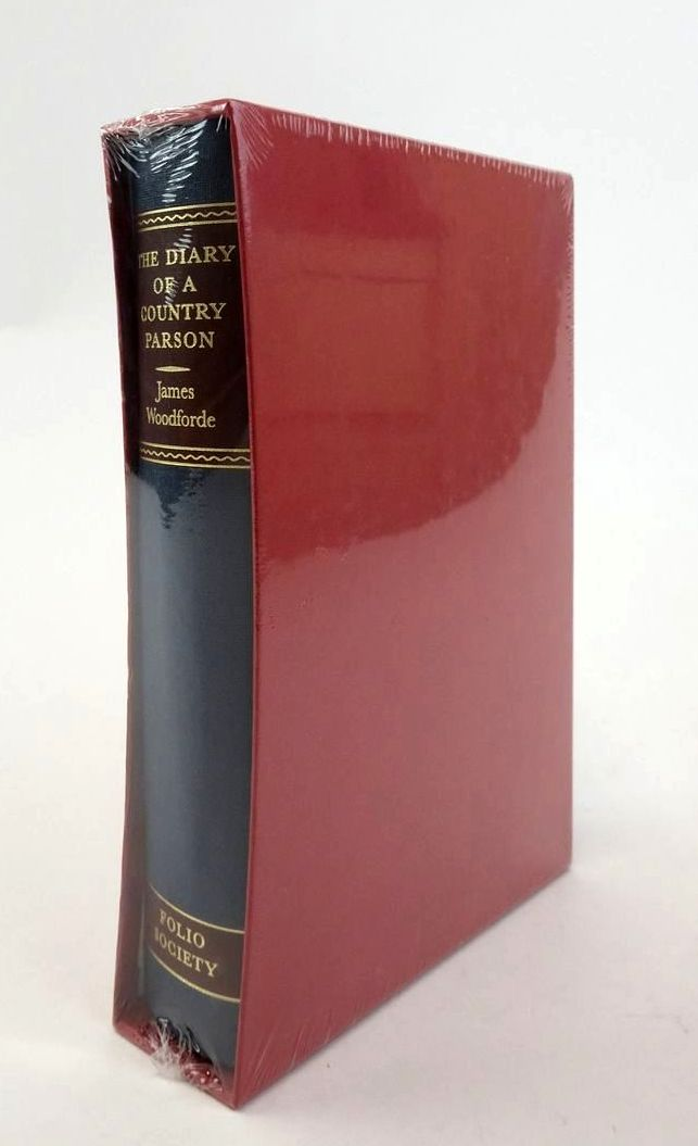 Photo of THE DIARY OF A COUNTRY PARSON written by Woodforde, James Hughes, David illustrated by Stephens, Ian published by Folio Society (STOCK CODE: 1822636)  for sale by Stella & Rose's Books