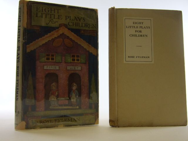 Photo of EIGHT LITTLE PLAYS FOR CHILDREN- Stock Number: 2105432