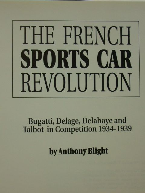 Photo of THE FRENCH SPORTS CAR REVOLUTION written by Blight, Anthony published by Haynes Publishing Group (STOCK CODE: 2105778)  for sale by Stella & Rose's Books