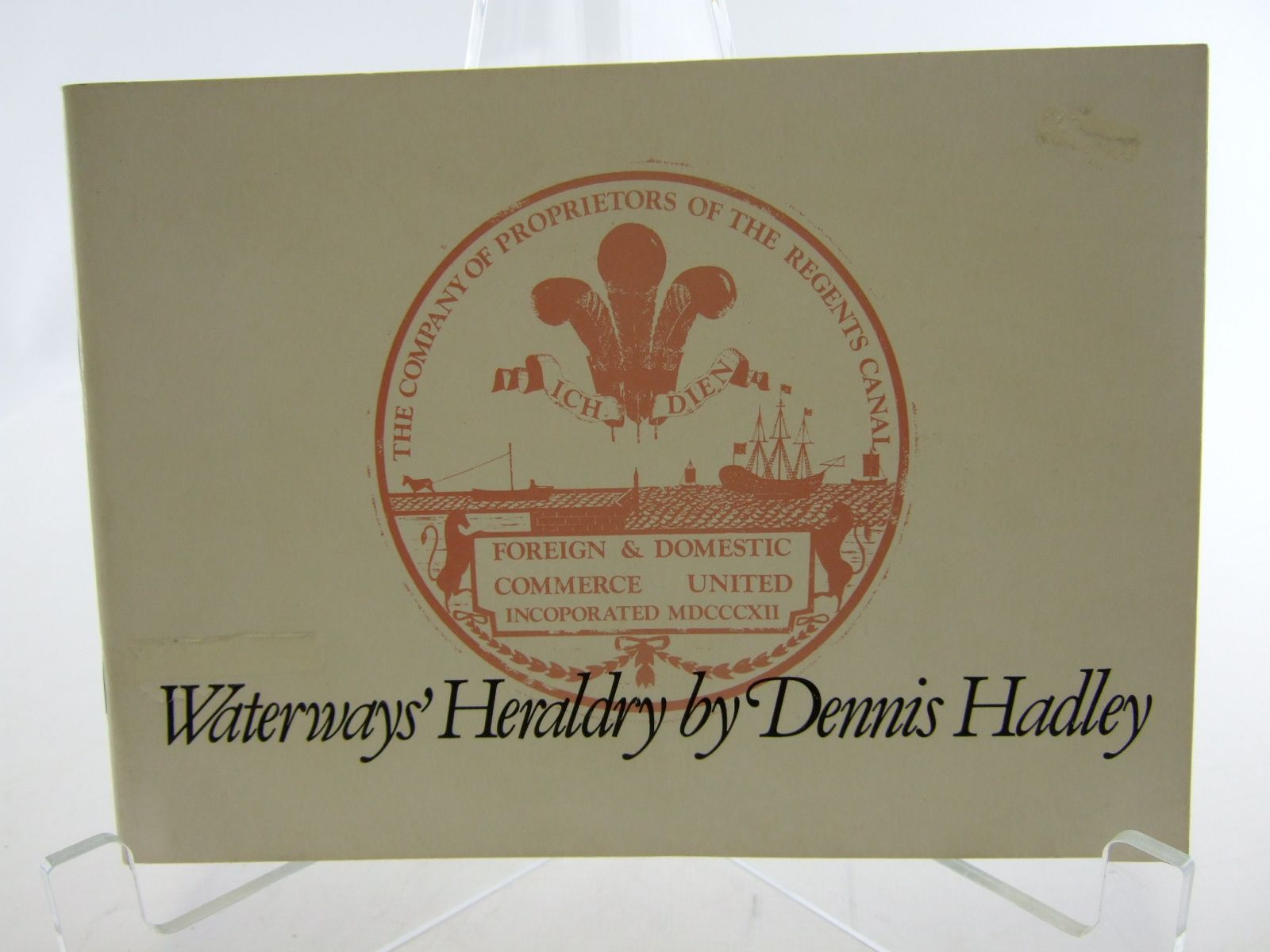 Photo of WATERWAYS' HERALDRY written by Hadley, Dennis published by The Waterways Museum (STOCK CODE: 2106398)  for sale by Stella & Rose's Books