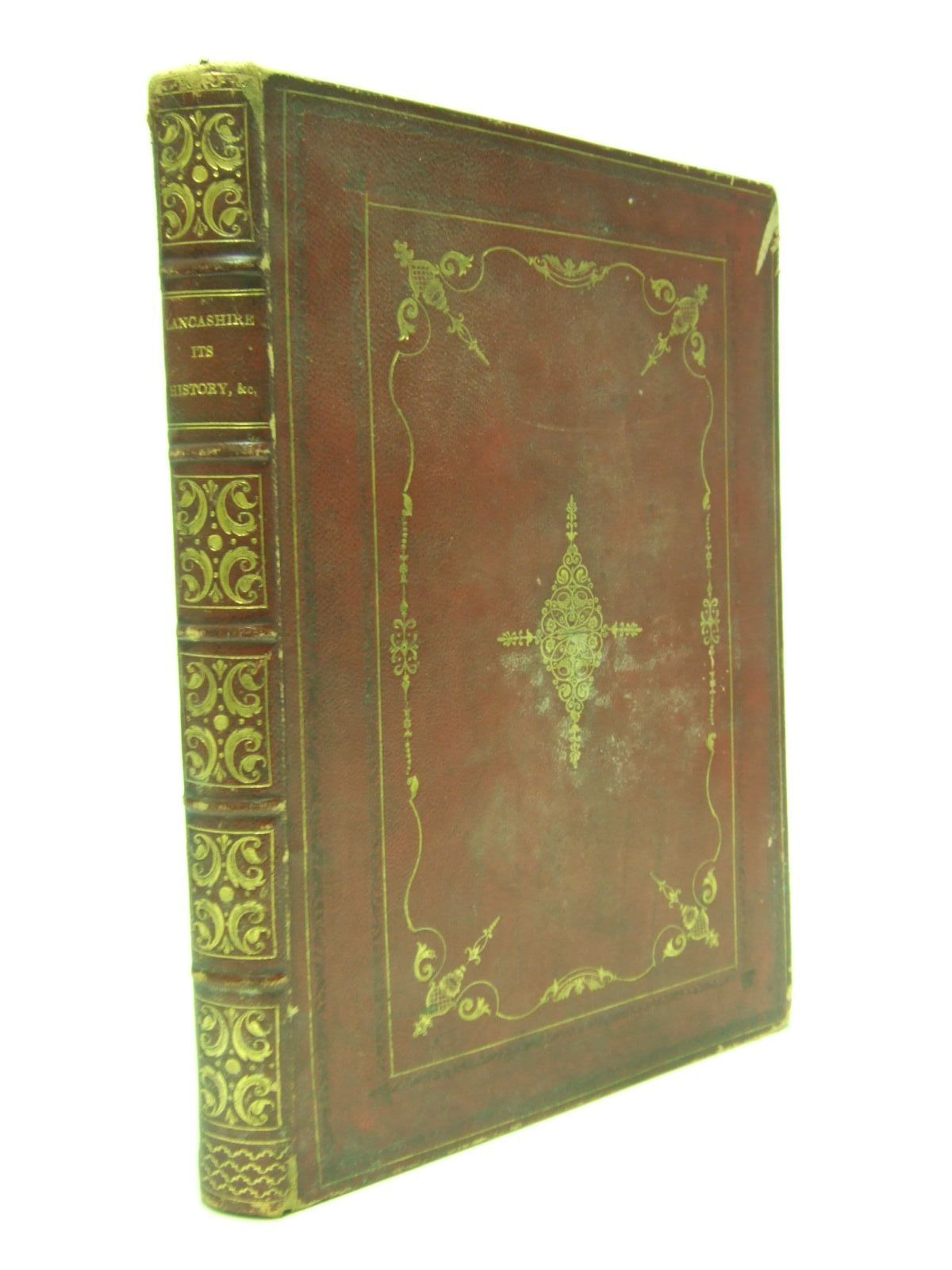 Photo of LANCASHIRE ITS HISTORY LEGENDS AND MANUFACTURES written by Wright, G.N. published by Fisher, Son & Co. (STOCK CODE: 2106648)  for sale by Stella & Rose's Books