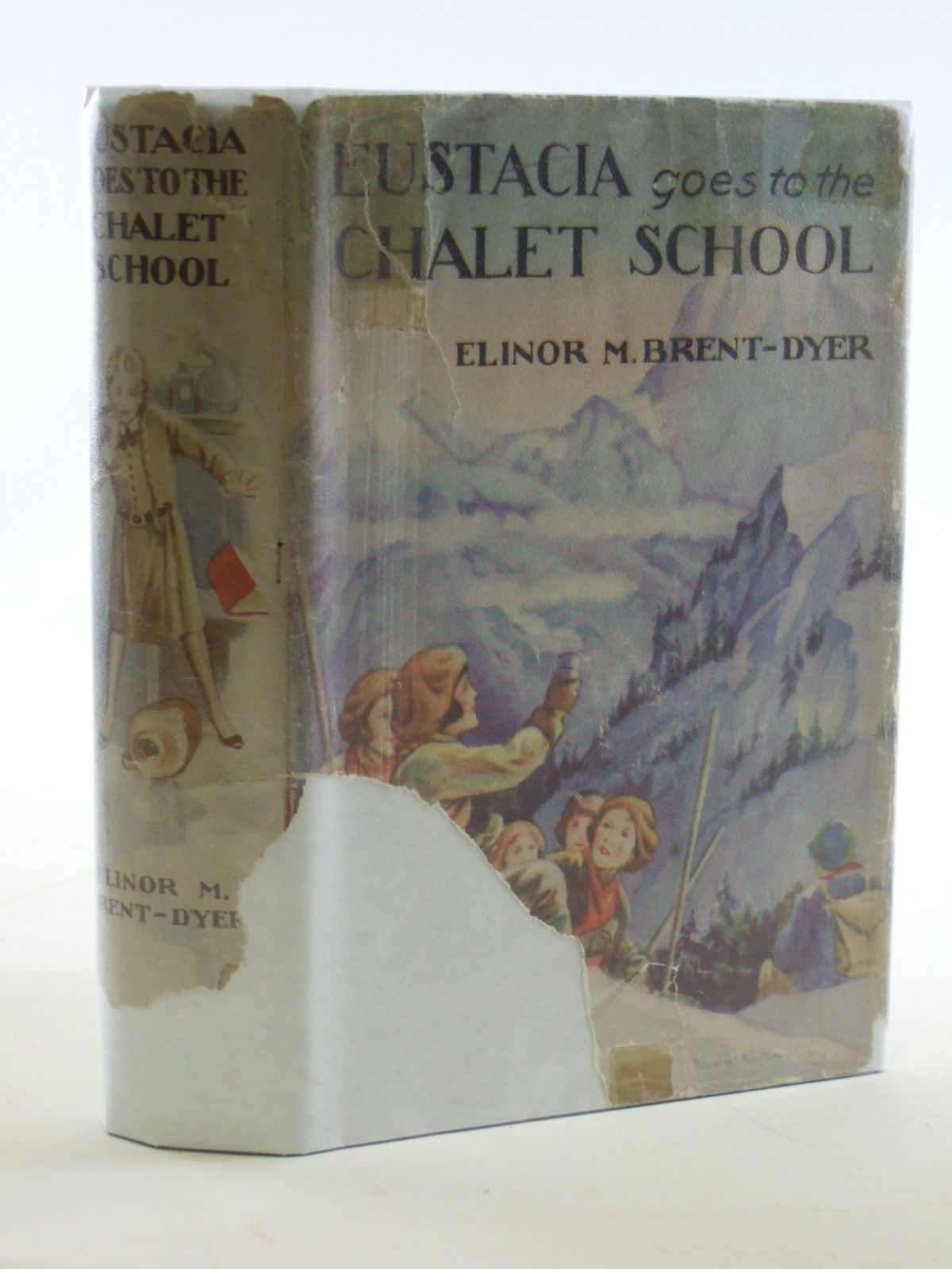 Photo of EUSTACIA GOES TO THE CHALET SCHOOL written by Brent-Dyer, Elinor M. illustrated by Brisley, Nina K. published by W. & R. Chambers Limited (STOCK CODE: 2106778)  for sale by Stella & Rose's Books