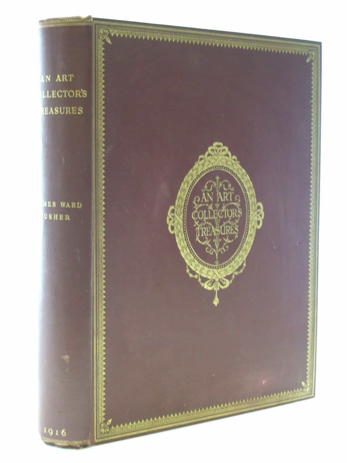 Photo of AN ART COLLECTOR'S TREASURES written by Usher, James Ward illustrated by Usher, James Ward published by Chiswick Press (STOCK CODE: 2106947)  for sale by Stella & Rose's Books