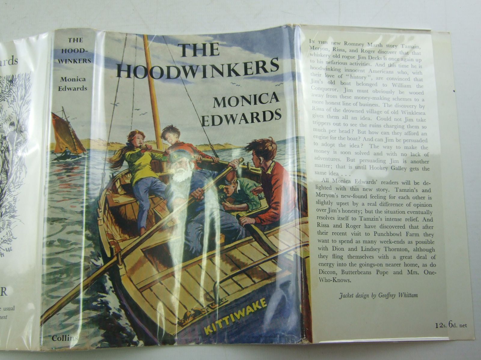 Photo of THE HOODWINKERS written by Edwards, Monica illustrated by Whittam, Geoffrey published by Collins (STOCK CODE: 2108059)  for sale by Stella & Rose's Books