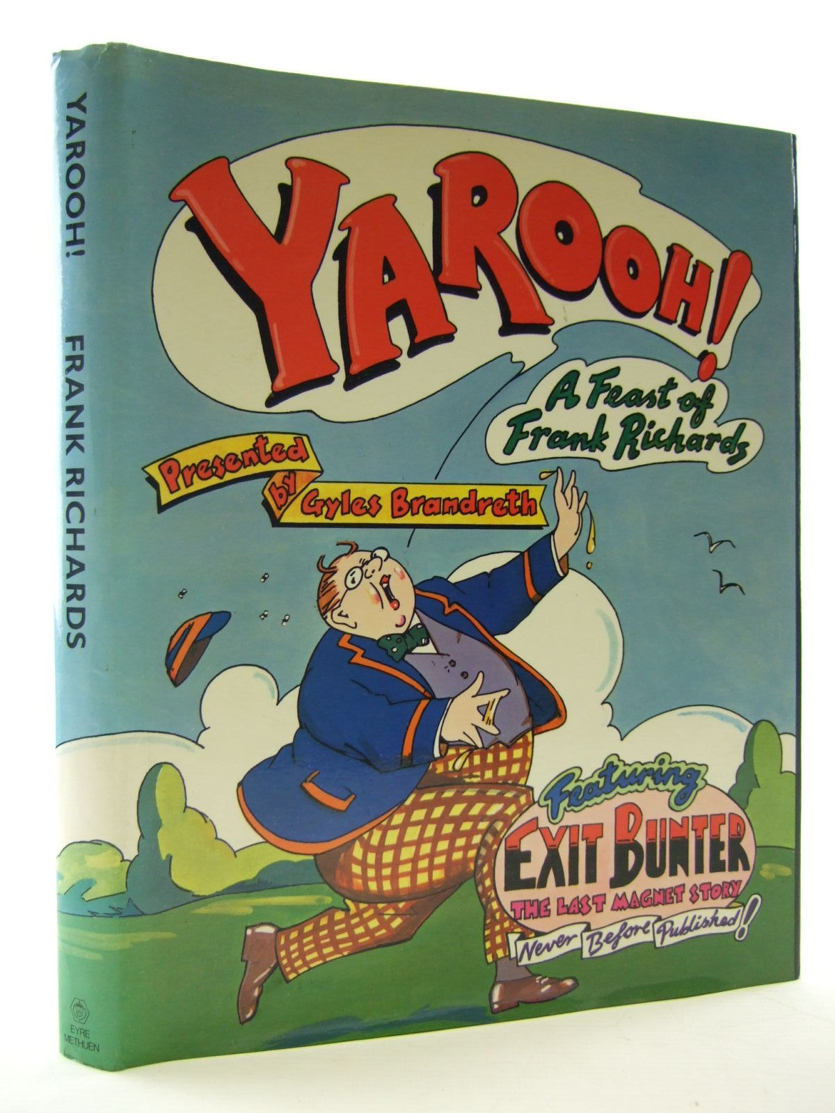 Photo of YAROOH! A FEAST OF FRANK RICHARDS written by Brandreth, Gyles Richards, Frank published by Eyre & Methuen (STOCK CODE: 2108158)  for sale by Stella & Rose's Books