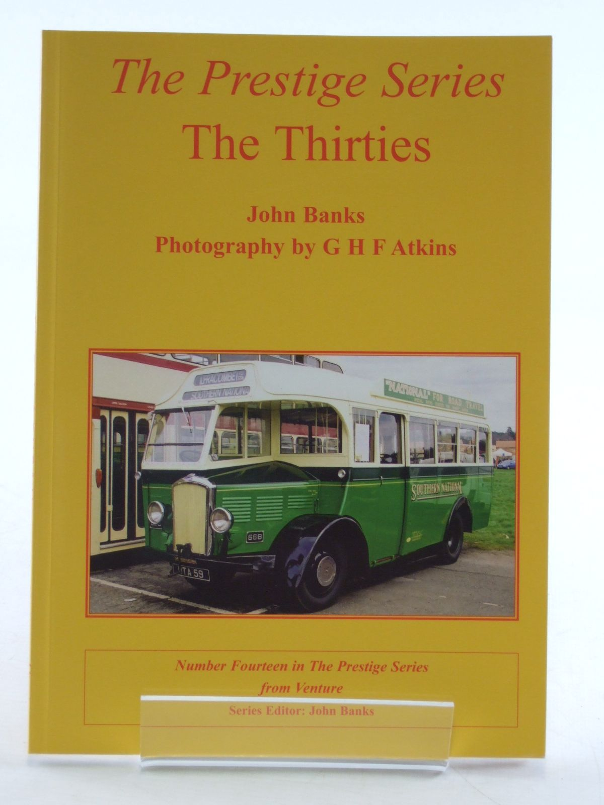 Photo of THE PRESTIGE SERIES THE THIRTIES written by Banks, John published by Venture Publications (STOCK CODE: 2108747)  for sale by Stella & Rose's Books