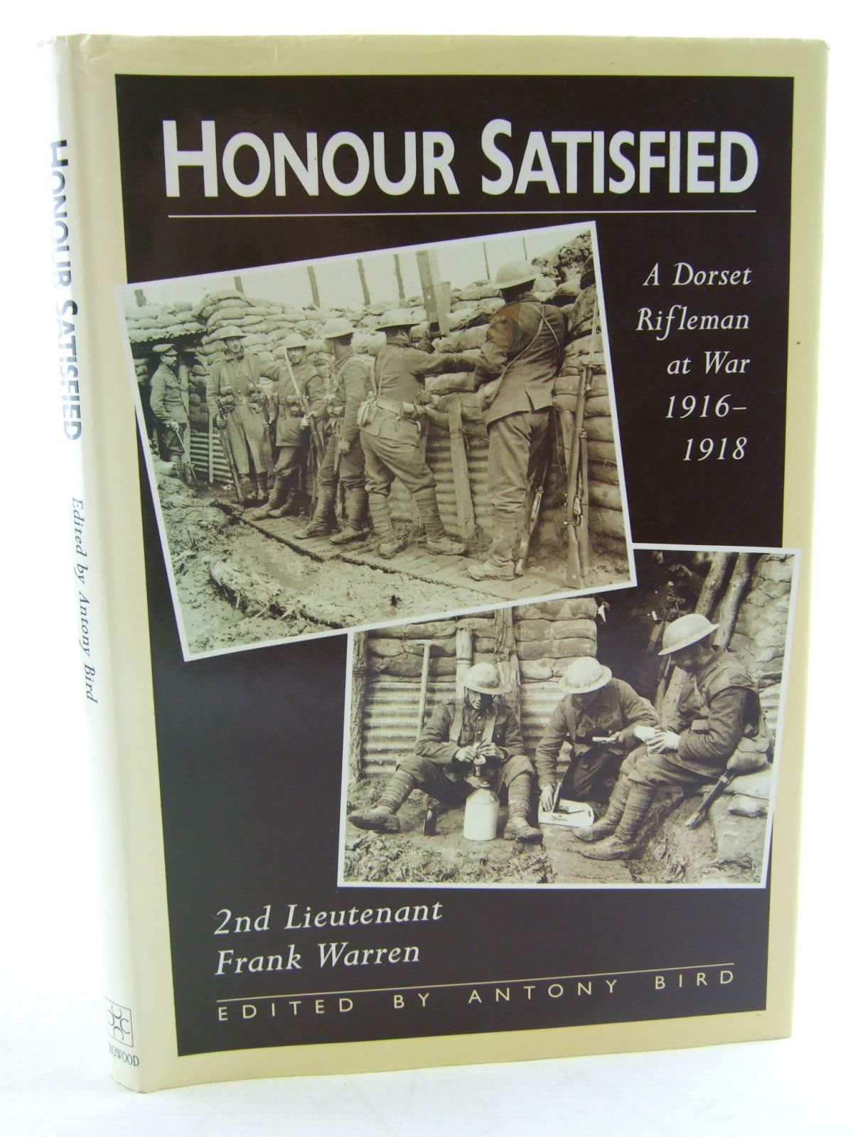 Photo of HONOUR SATISFIED written by Warren, Frank<br />Bird, Antony published by The Crowood Press (STOCK CODE: 2108880)  for sale by Stella & Rose's Books