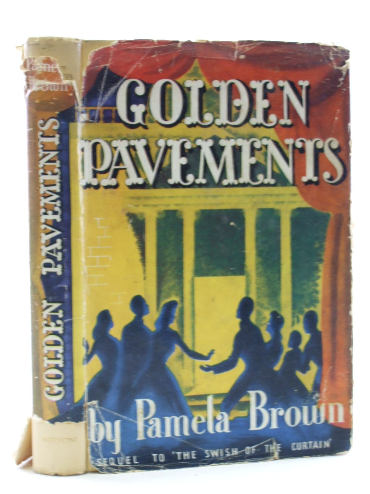 Photo of GOLDEN PAVEMENTS written by Brown, Pamela illustrated by Whittaker, Newton published by Thomas Nelson and Sons Ltd. (STOCK CODE: 2109095)  for sale by Stella & Rose's Books
