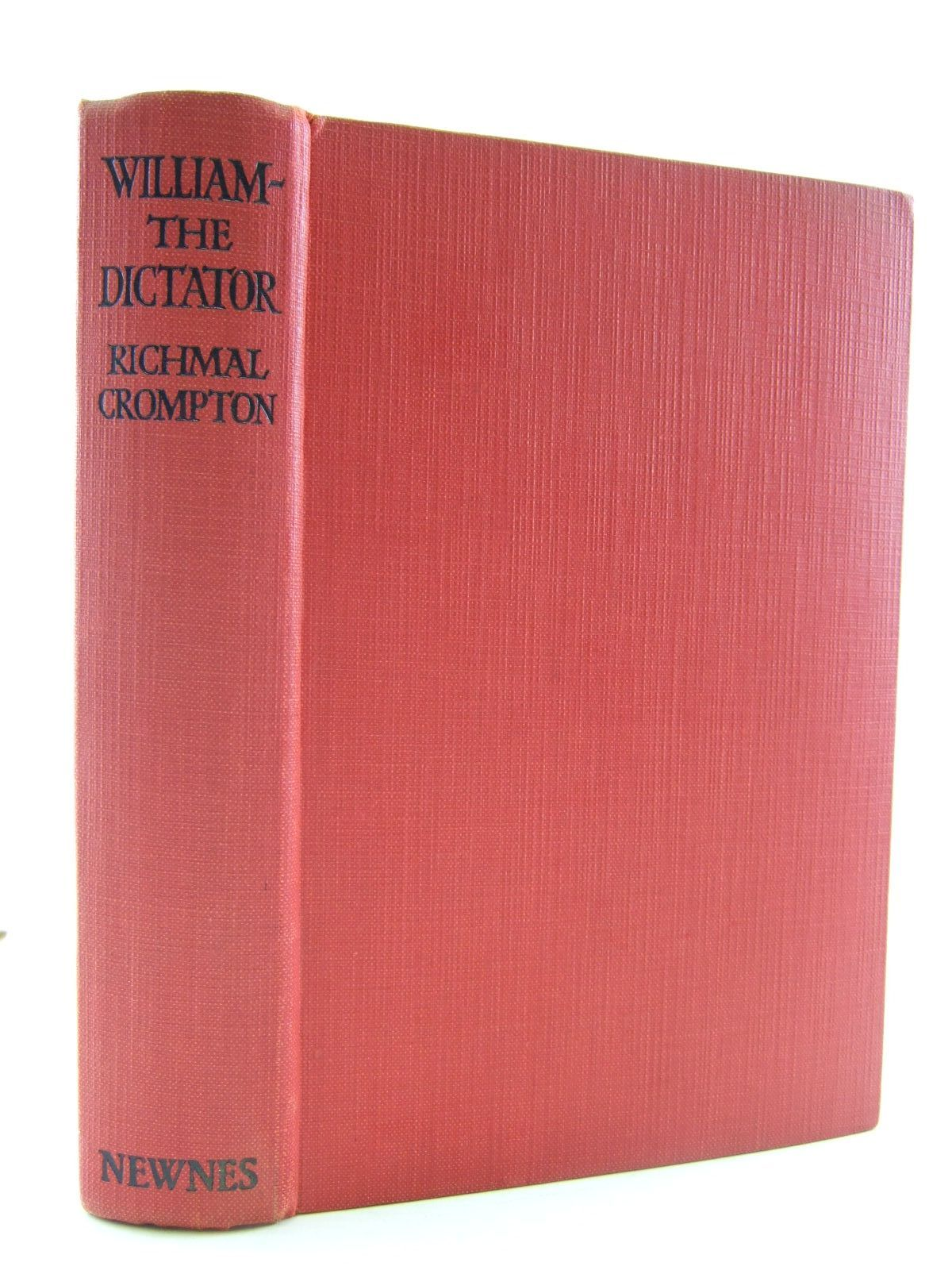 Photo of WILLIAM-THE DICTATOR written by Crompton, Richmal illustrated by Henry, Thomas published by George Newnes Ltd. (STOCK CODE: 2109199)  for sale by Stella & Rose's Books